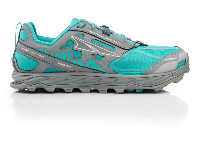 Altra Lone Peak 4 Running Shoes Women Teal/Gray